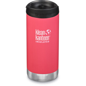 Klean Kanteen TKWide Bottle with Cafe Cap 355ml Vacuum Insulated melon punch
